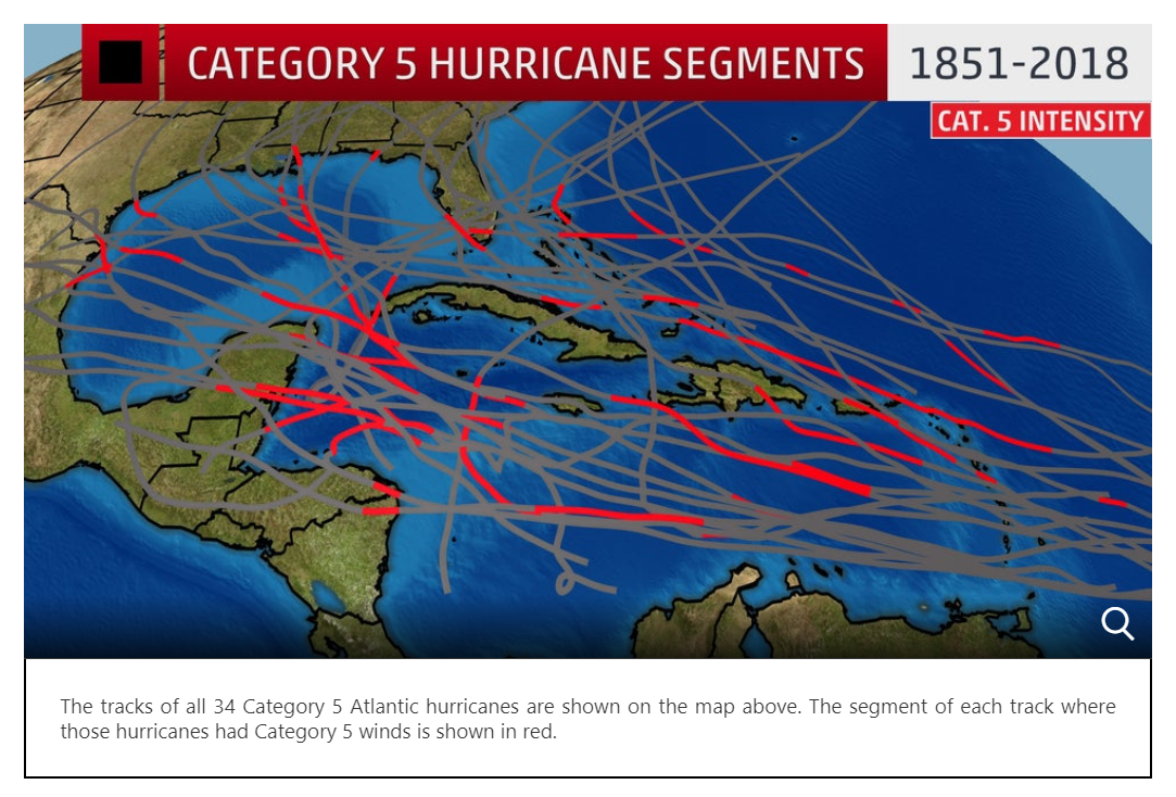 Monsters of the Atlantic The Basin s Category 5 Hurricanes The Weather Channel-